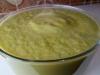Creme suave alho francês e brócolos (paleo)