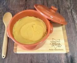 Puré de batata doce e marmelo