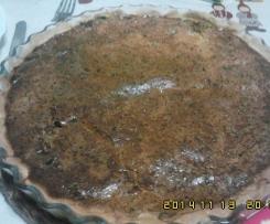 Quiche de carne aldrabada