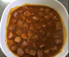 Molho CurryWurst