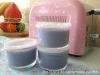 Iogurte com gelatina de amora (sem lactose)