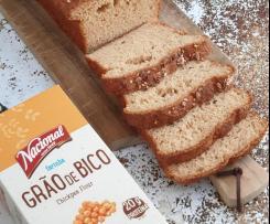 Pão de grão de bico (sem glúten)