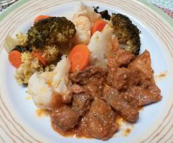 Carne de Porco com Legumes