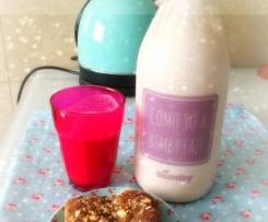 Iogurte líquido com aroma a melancia