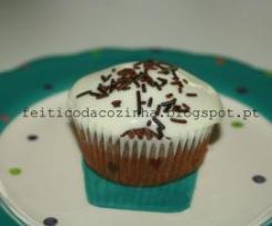 Cupcakes de Chocolate com Creme