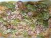 arroz com linguiça calabresa e ervilhas
