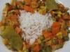Caril de Atum com legumes