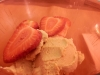 Gelado rápido de bolacha maria. Gluten free