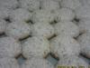 Bolinhos de amêndoa com fruta cristilizada