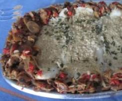 Filetes de peixe com farelo de Aveia