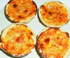 Mini-Quiches à Bolonhesa