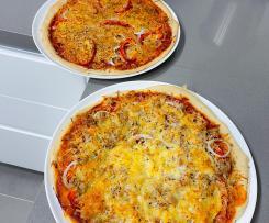 Massa / Base fina para pizza