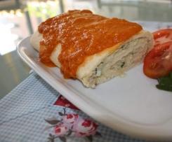 Torta de pescada com ameijoas