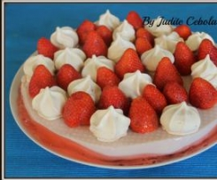 Doce de gelatina e leite condensado