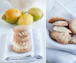 Cookies de Limão e Sementes de Papoila