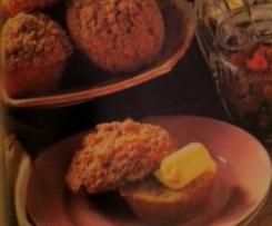 Muffins de Framboesa com Cobertura Estaladiça