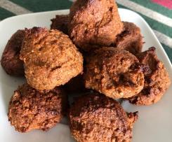 Arrepiados de batata-doce e nozes