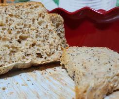 Pão de iogurte e sementes