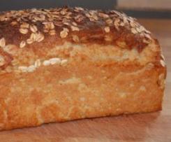Pão de Forma de Aveia e Iogurte (para formas de 30 cm)