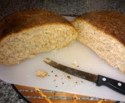 Pão Integral Fácil de 5 sementes