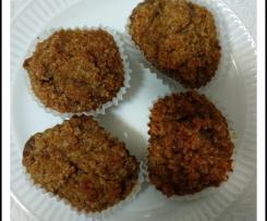 Bolinhos de coco castanhos