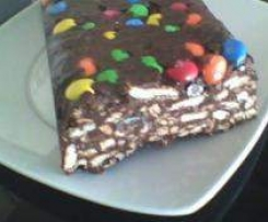 Salame de Chocolate Colorido