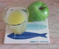 néctar de maçã verde