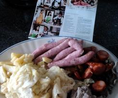 Cozido de salsichas