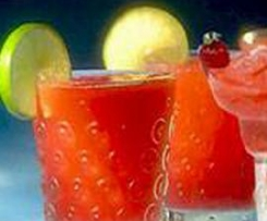 Margarita de morangos