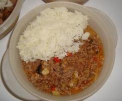 Carne Picada com Legumes