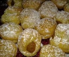 Eclairs de Batata doce (Alternativa às tradicionais Azevias)