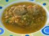 Estufado de lentilhas com abóbora e almondegas