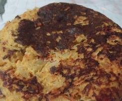 tortilha de batata com queijo