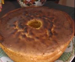 Pão de ló de limão da minha avó