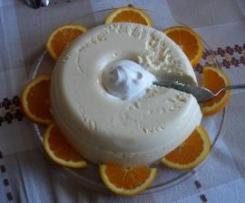 """Sobremesa de laranja """"fria"""""""