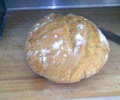 Pão Milagre (Receita do blog da Donabimby