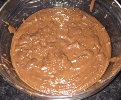 Mousse de Chocolate e Batata Doce