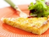 Quiche rápida de alho francês