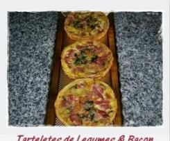 Tarteletes de Legumes & Bacon