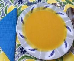 Sopa de Cenoura e Abóbora
