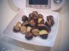 Castanhas cozidas