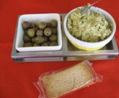 Paté de azeitonas verdes