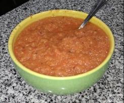 Salsa Roja Mexicana (Molho Vermelho muito picante)
