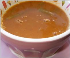 Sopa de Feijão Manteiga com Couve Lombarda