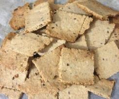 Variante de Bolachas de sementes s/ gluten - vegan