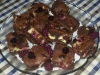 Brownies de Cheesecake e Framboesa - SEM GLÚTEN