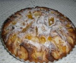Tarte Merengada de abóbora e maçã