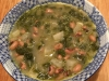 Sopa de feijão frade com grelos
