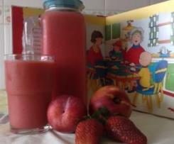 Nectar de Pessego Ameixas e Morangos