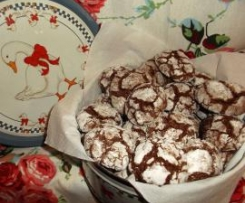 Crinkles de Chocolate e Nozes